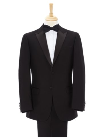Regular Fit Tuxedo Suit