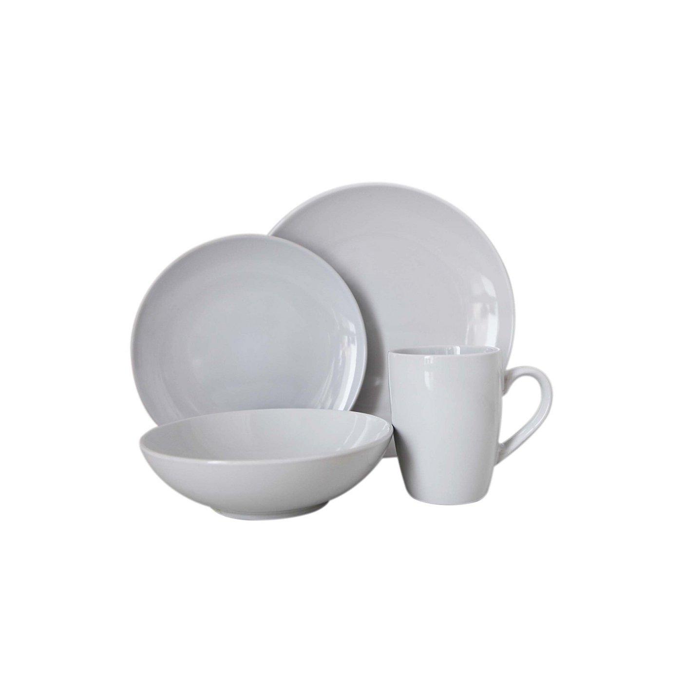 White Tableware Range | Tableware | George at ASDA