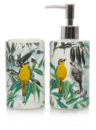 Bird & Leaves Bath Accessories Range