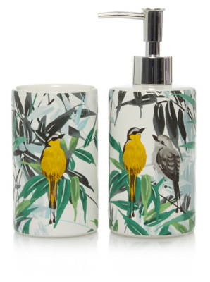 Bon Bird U0026 Leaves Bath Accessories Range. Loading Zoom