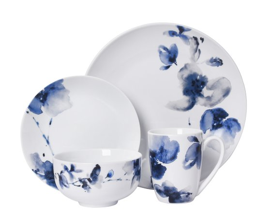 Blue Floral Tableware Range