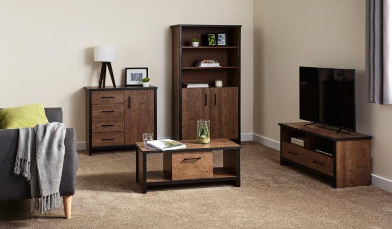 Declan Dining Room Furniture Range - Pine Effect