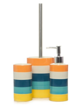 Havana Stripe Bath Accessories Range
