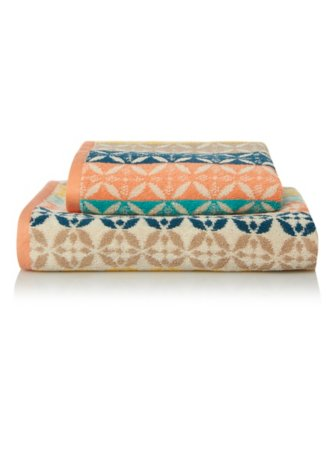 100% Cotton Towel Range - Havana Stripe