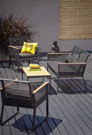Noir 4 Piece Garden Set - Get The Look