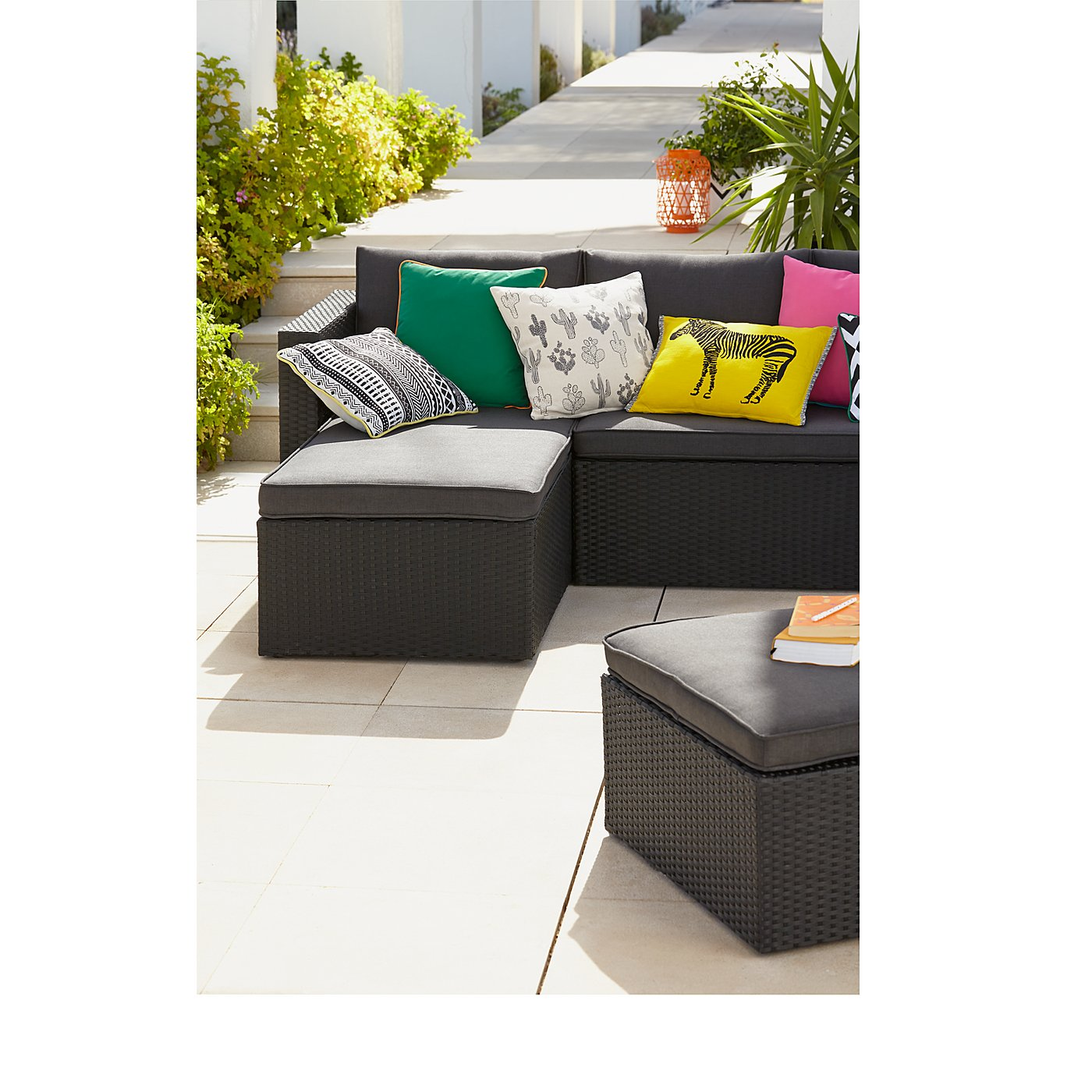 Orlando Chaise   Get The Look  Loading zoom. Orlando Chaise   Get The Look   Garden Furniture   George at ASDA