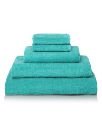 100% Cotton Towel Range - Paradise Blue