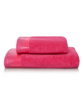 Pink Sequin Towel Range
