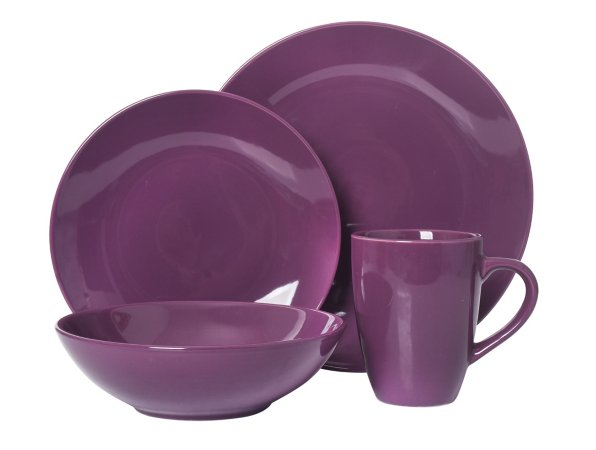 Purple Tableware Range