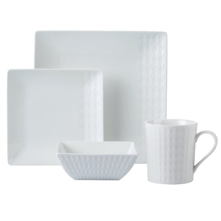 Fine China Square Tableware Range