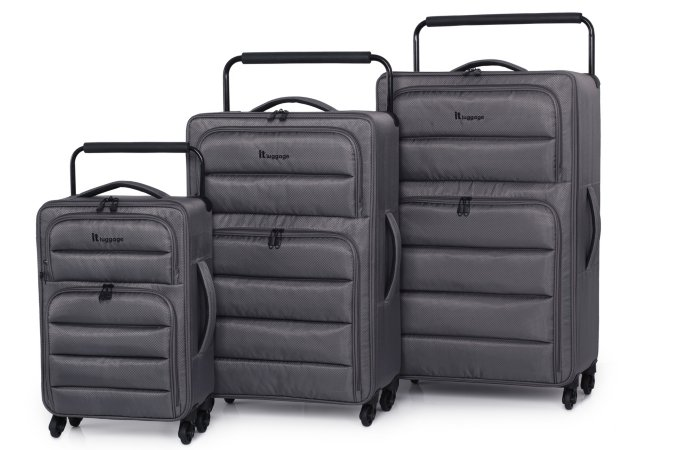 it Luggage Pewter Worlds Lightest 4 Wheel Range