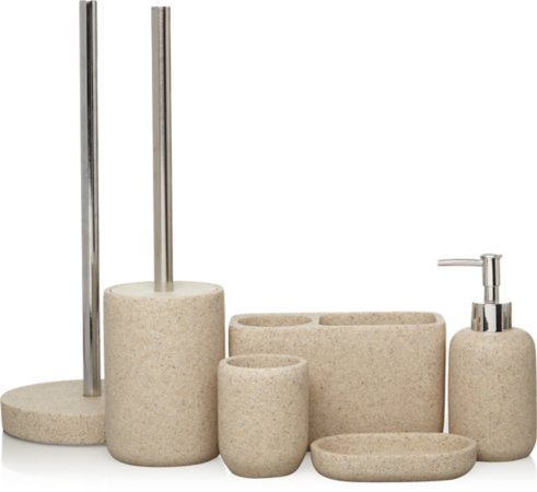 Natural Sandstone Bath Accessories Range
