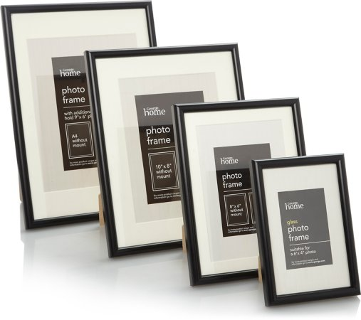 Black Photo Frame Range