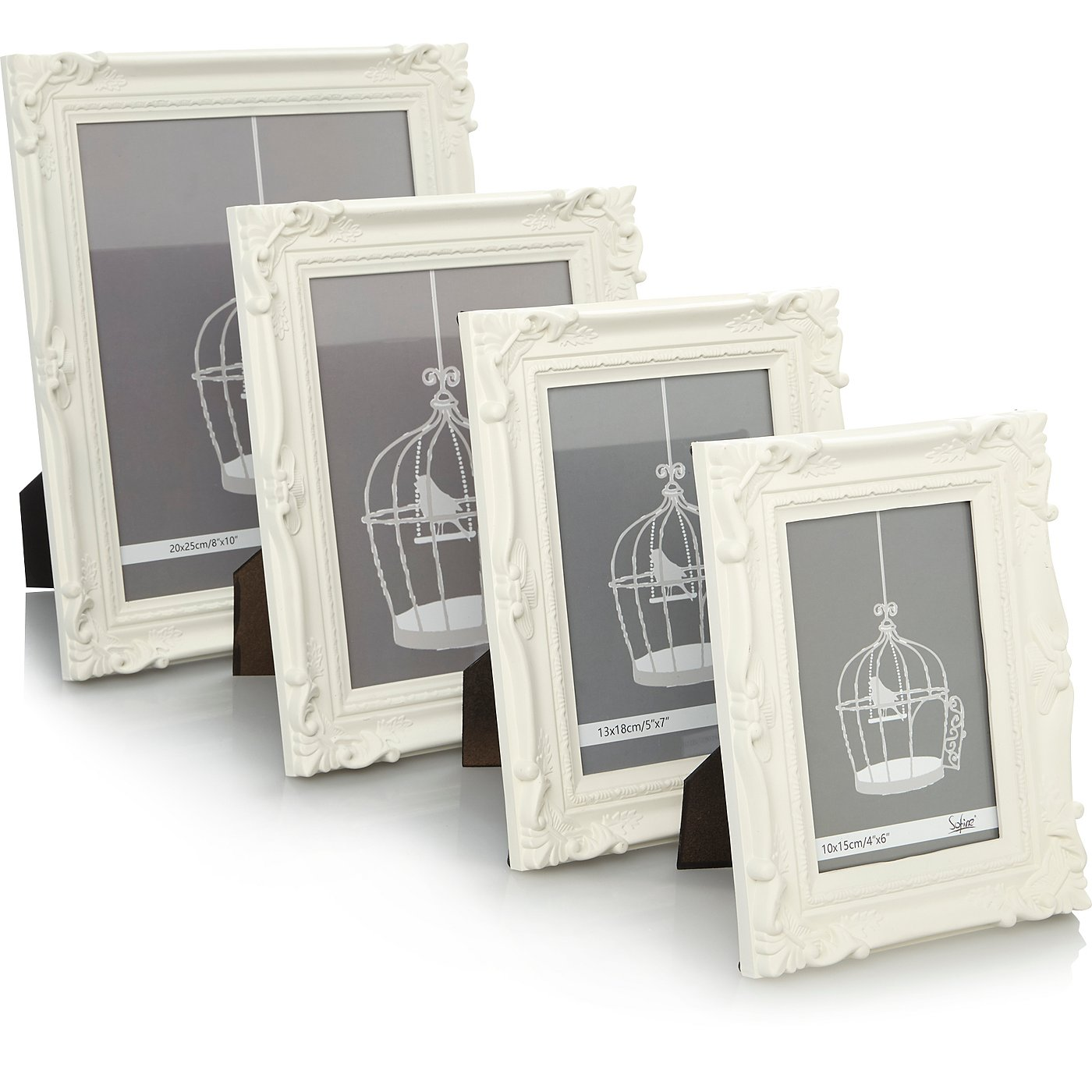 Photo frames albums home garden george at asda baroque photo frame range jeuxipadfo Choice Image