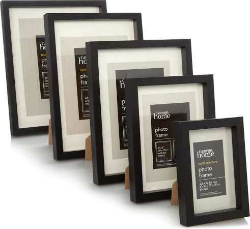 Black Boxed Frame Range