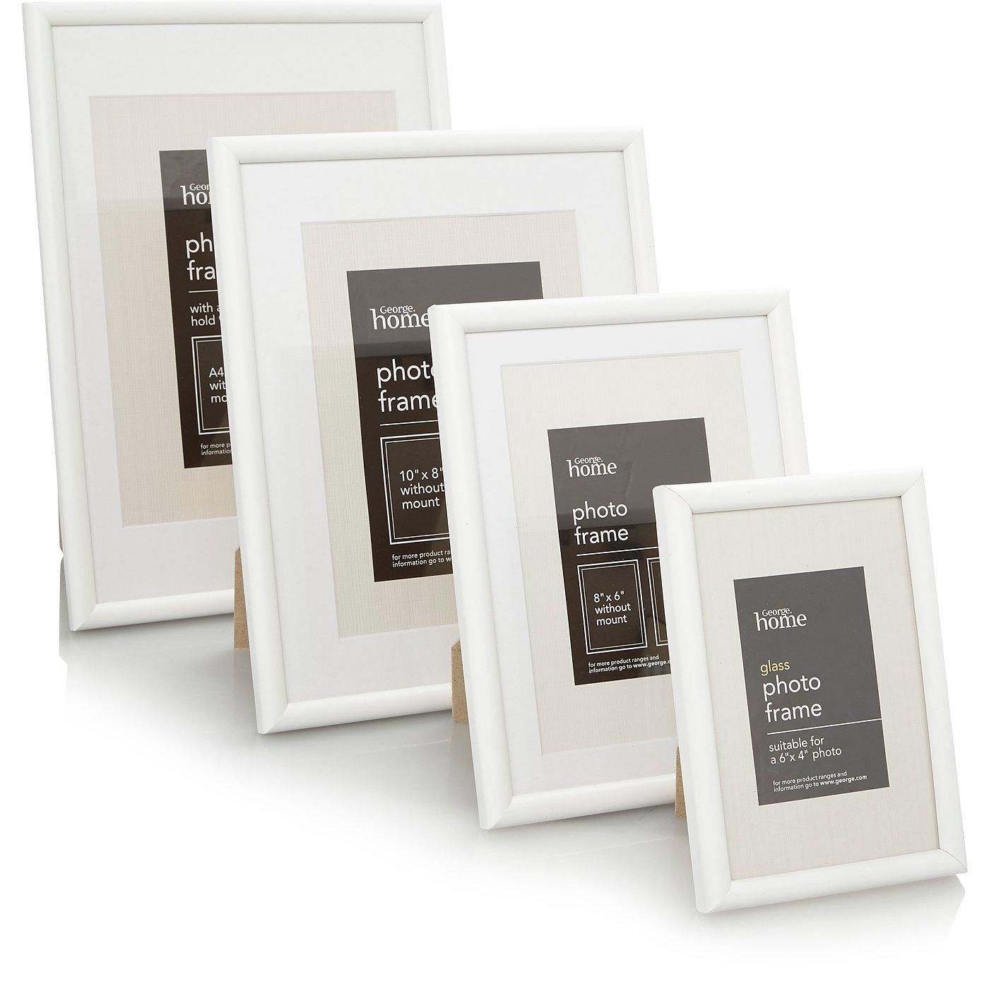 White Photo Frame Range | Photo Frames | George at ASDA