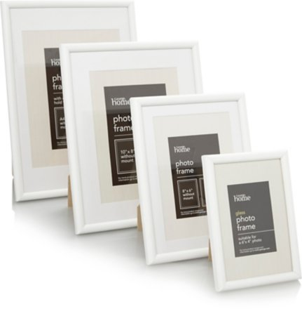 White Photo Frame Range
