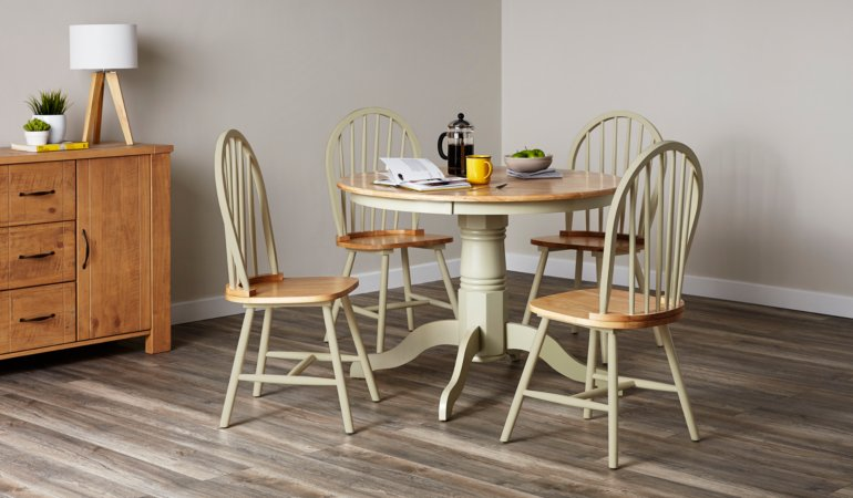 Yvette Dining Furniture Range - Sage Green