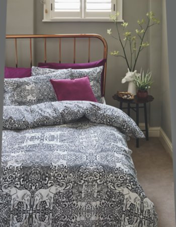 Animal Damask Elephants Bedroom Range