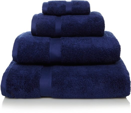 Super Soft Cotton Towel Range - Blue