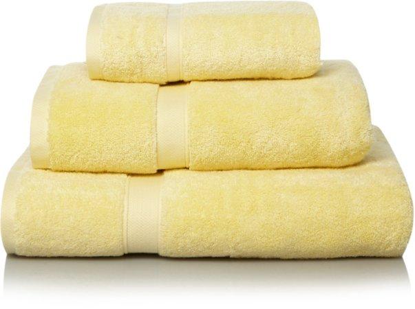 Super Soft Cotton Towel Range - Yellow