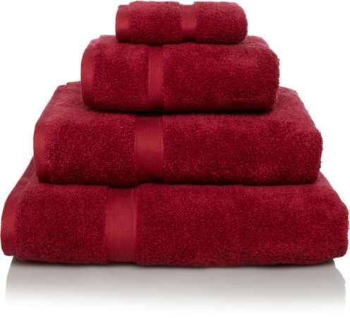 Super Soft Cotton Towel Range - Red