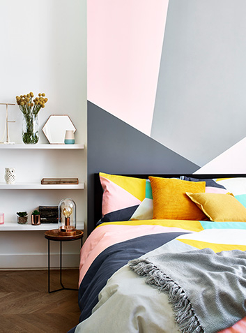 Create a cosy bedroom space with Scandi accessories and bedding at George.com