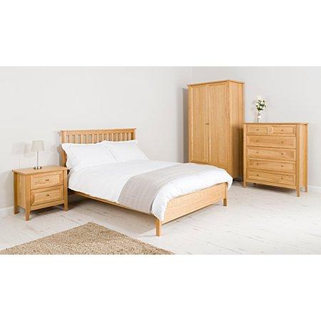 George Home Ewan Bedroom Furniture Range Oak Oak Veneer