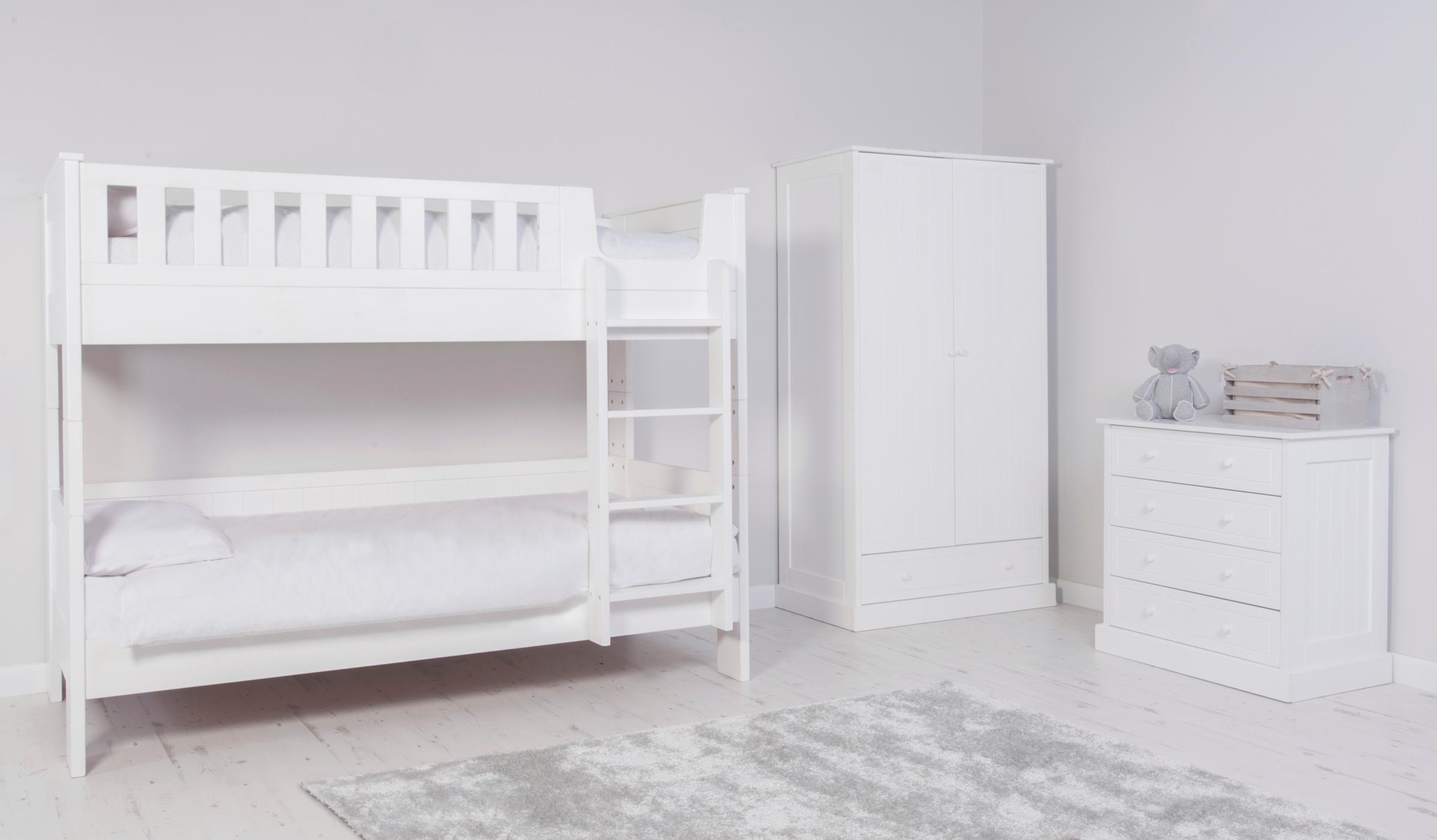Finley Kids Furniture Range White Kids Beds
