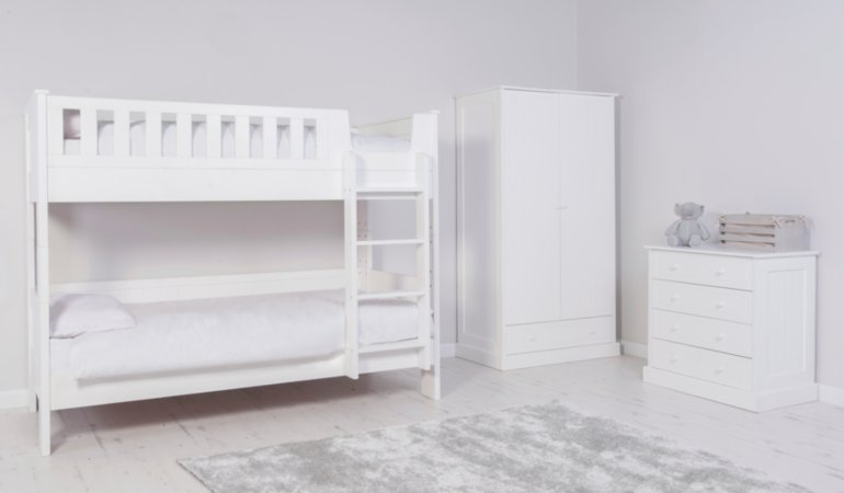 Finley Kids Furniture Range - White