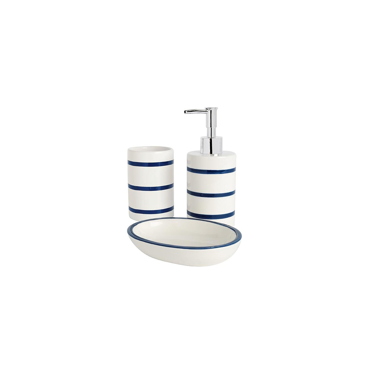 Bathroom Range Navy Stripe Loading Zoom