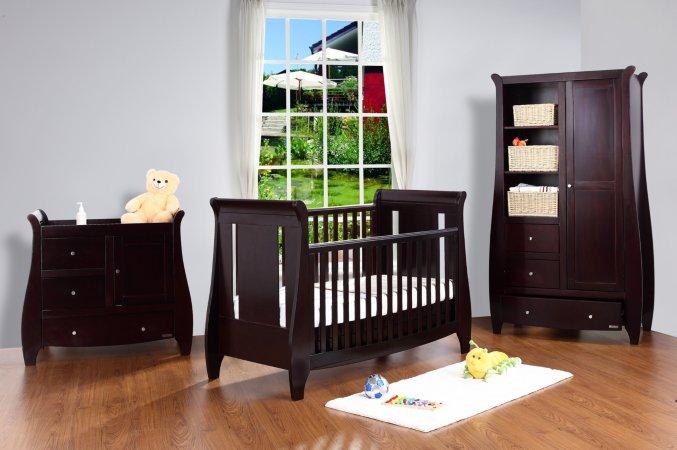 Tutti Bambini Lucas Nursery Range - Espresso