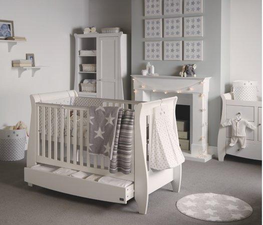 Tutti Bambini Lucas Nursery Range - White