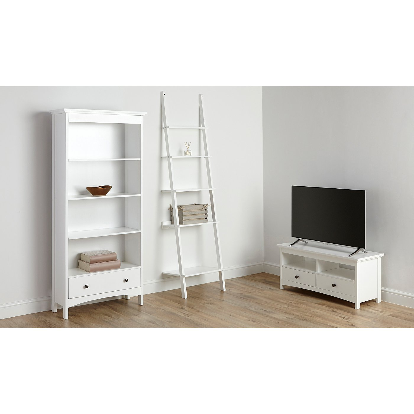 Tamsin Living Room Furniture Range - White | Living Room | George ...