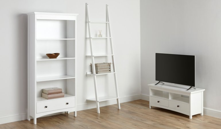 Tamsin Living Room Furniture Range - White