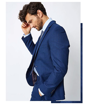 Update your formal wardrobe with a classic-cut suit
