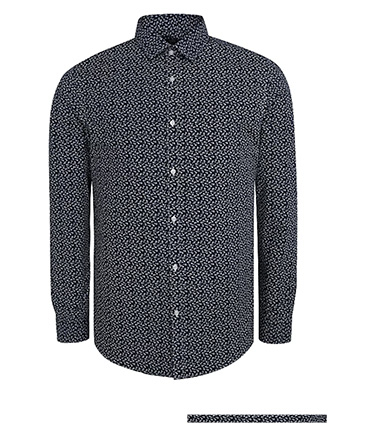 Look sharp in a printed shirt