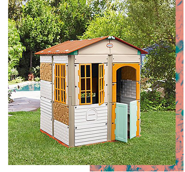 Let them create their very own playhouse with this Little Tikes Build-a-House!