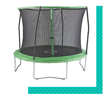 Keep children active and entertained with a trampoline