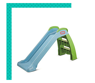 This Little Tikes First Slide will provide hours of garden fun this summer