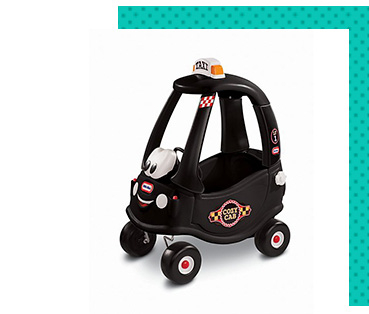 They'll love catching a ride in this Cozy Coupe Cab