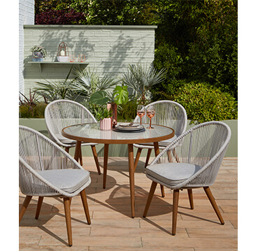 Create the perfect space for socialising this summer with a bistro set