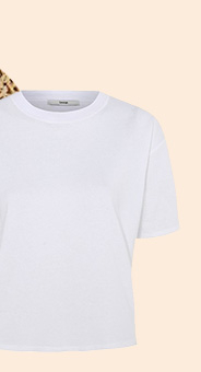 A classic white tee is perfect for layering with any outfit
