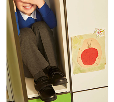 Kit busy feet out with our range of school shoes
