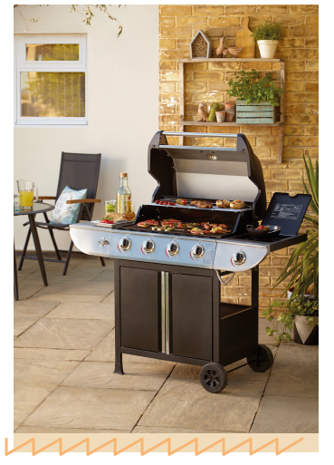 Get cooking with a gas BBQ