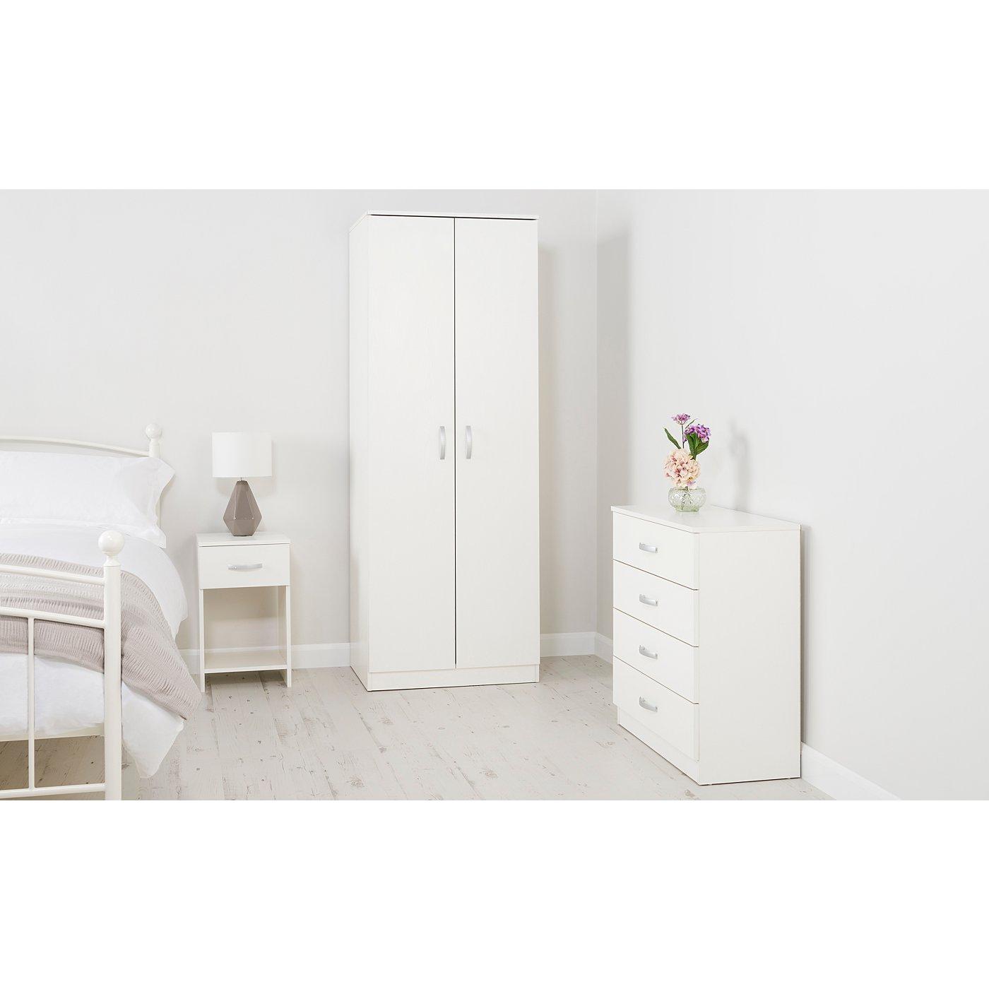 George Home Marlow Bedroom Furniture Range   White Ash Effect  Loading zoom. George Home Marlow Bedroom Furniture Range   White Ash Effect
