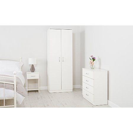 George Home Marlow Bedroom Furniture Range White Ash Effect Bedroom George At Asda