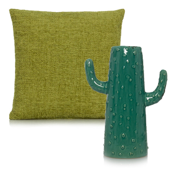 Mix metallic accessories with fresh botanicals and refresh your living space in time for summer with george.com