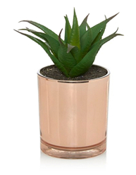 Mix metallic accessories with fresh botanicals and refresh your living space in time for summer with george.comm