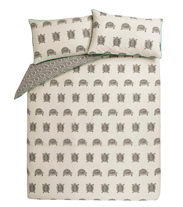 Update your bedroom with our fresh range of geometric prints, florals and hints of greenery at george.com